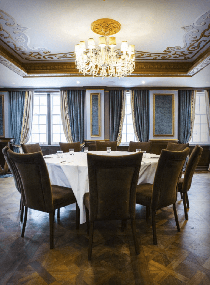 Events at Windsor Arms Hotel Sultan Room