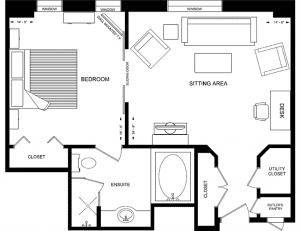 The Windsor Arms Hotel Floor Plan