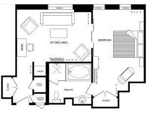 The Windsor Arms Hotel Suite Floor Plan